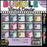 Orton-Gillingham Word Cards- the Bundle