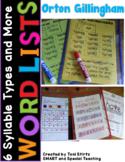 Orton Gillingham Word Lists Vowel Teams Dyslexia Interventions Level 5