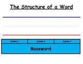Orton-Gillingham Word Structure Aid