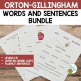 Orton-Gillingham Word Lists and Sentences Levels 1-5   Vir
