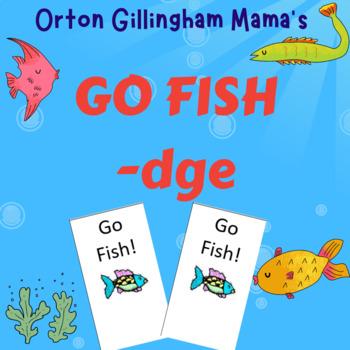 Orton Gillingham -dge Go Fish card game