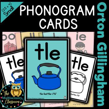 Orton Gillingham individually sized sound cards