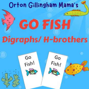 Orton Gillingham h brothers Go Fish card game