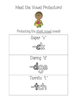 Orton-Gillingham new learning vowel protectors