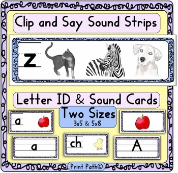 Orton Gillingham-style Phonetic Awareness: Clip and Say +
