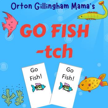 Orton Gillingham tch Go Fish Card game