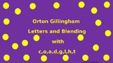 Orton Gilllingham Letters and Blending
