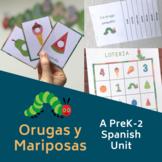 Orugas y Mariposas: A PreK Spanish Unit #tptdistancelearning