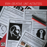 Orwell's 1984, Activity Bundle, High School ELA