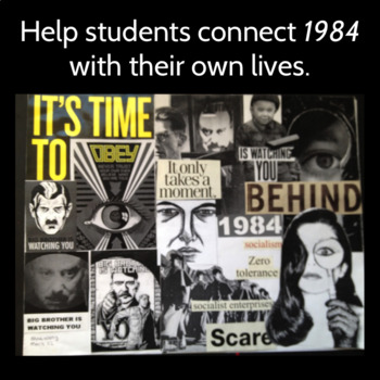 1984: Collage Project, Connecting Orwell and the Modern World