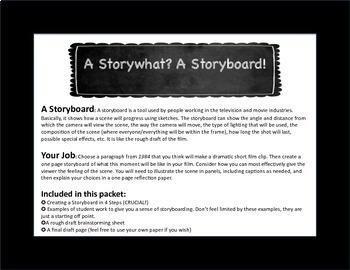 1984: Storyboard a Film Clip