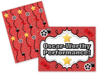 Oscar Hollywood Bulletin Board Set