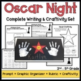 Oscars Writing and Craftivity Set - Red Carpet Theme
