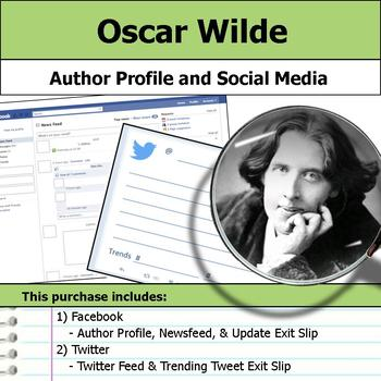 Oscar Wilde - Author Study - Profile and Social Media