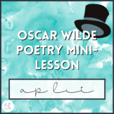 Oscar Wilde Poetry Mini-lesson