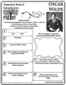 oscar wilde famous poems