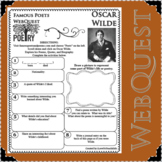 OSCAR WILDE Poet WebQuest Research Project Poetry Biography Notes