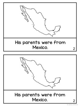 Oscar de la Hoya Reader {Hispanic Heritage Month} Organizer & Timeline {English}
