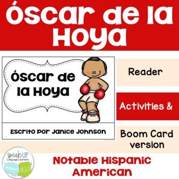 Oscar de la Hoya Reader {Hispanic Heritage Month} Organizer & Timeline {español}