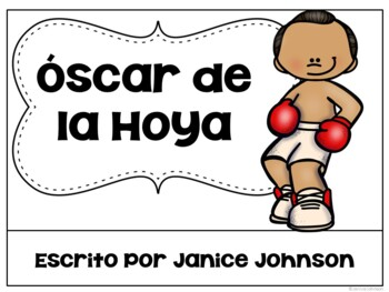 Oscar de la Hoya Readers {Hispanic Heritage Month} Bilingual Bundle