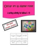Oscar et la dame rose | Card Sort Lettres 5-10