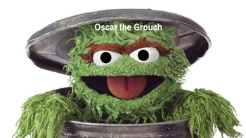 Oscar the Grouch - Power point history, facts, information sesame street