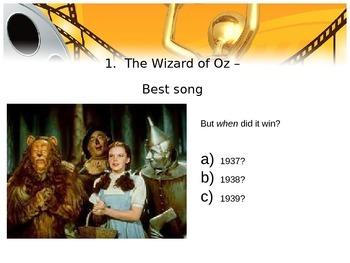 Oscars Quiz 2014