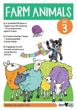Osito ESL Activity Pack - Farm Animals - ages 5-8 years