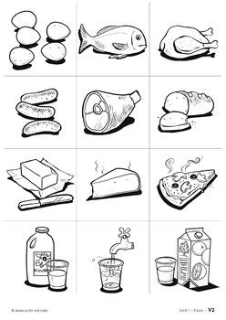 Osito ESL Activity Pack - Food - ages 5-8 years