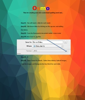 Osmo Customizable Spelling Powerpoint Template