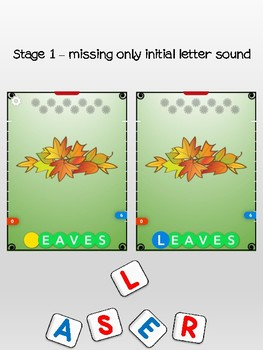 Fall - Initial letter sounds