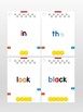 Osmo Sight words - Dolch pre-primer & primer lists