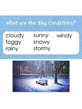 Osmo-Weather Vocabulary for the Young Learner