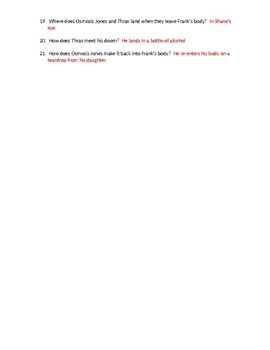 Osmosis Jones Movie Worksheet with KEY by Biology Boutique ...