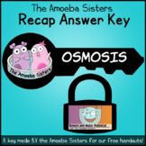 Osmosis Recap Answer Key by The Amoeba Sisters (Amoeba Sisters Answer Key)