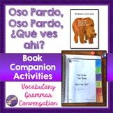 Oso Pardo Book Companion, Interactive Notebook Activities,