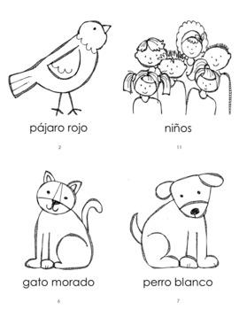 Oso Pardo Characters Mini-book
