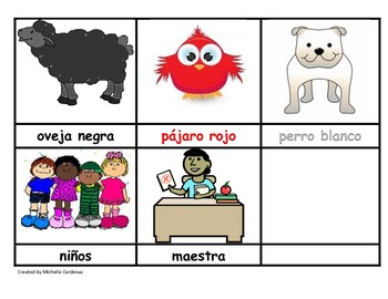 Oso Pardo Oso Pardo - Story Retelling Cards in Spanish