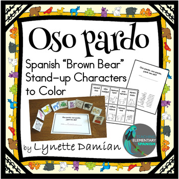 Oso Pardo Stand-up Characters