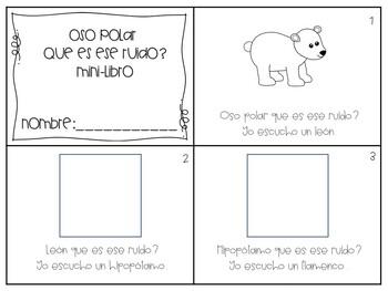 Oso Polar, Oso Polar Compañero de Libro