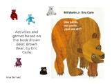 Oso pardo, oso pardo; activities and games PowerPoint