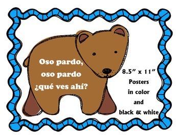 Oso pardo, oso pardo: que ves ahi? Posters