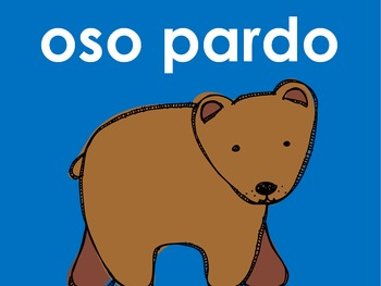Oso pardo, oso pardo: que ves ahi? PowerPoint