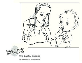 Human Body Detectives Coloring pages