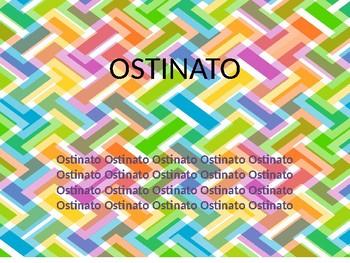 Ostinato Lesson- Grade 3-5