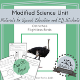 Modified Science Unit: Ostriches