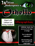 Othello 5-Paragraph Essay Writing Bundle