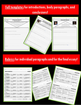 Othello 5-Paragraph Essay Writing Bundle