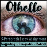 Othello 5-Paragraph Essay Writing Packet and PowerPoint Bundle
