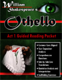 Othello Act 1 Guided Reading Packet